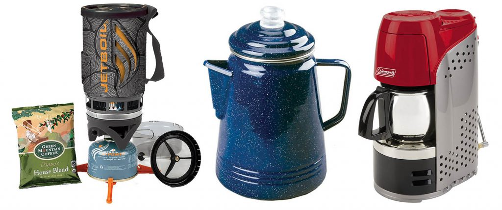 Great Coffee and Espresso Makers for the Great Outdoors