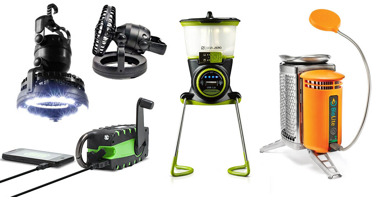 Innovative Camping Gadgets And Tech Accessories