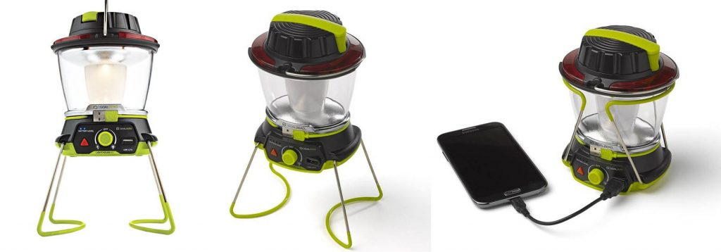 Camping lantern and USB Phone Charger