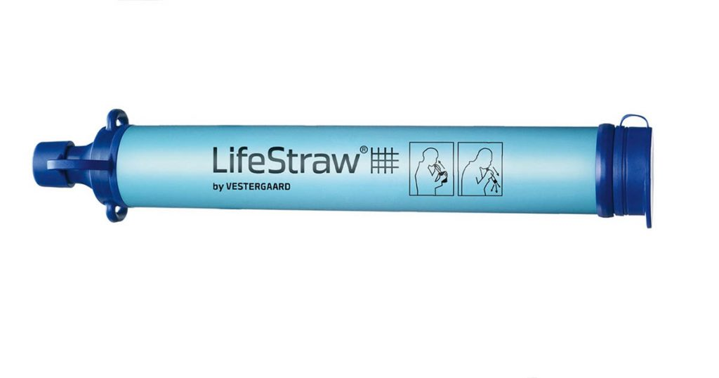 Life Straw Water Filtration System