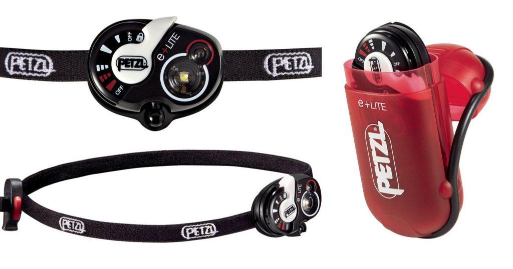 Petzl e-light emergency headlamp