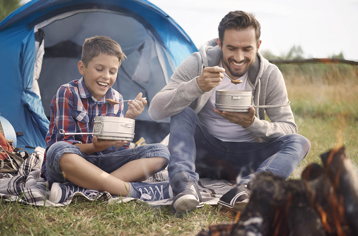 Camping: The Ultimate Father-Son Bonding Trip