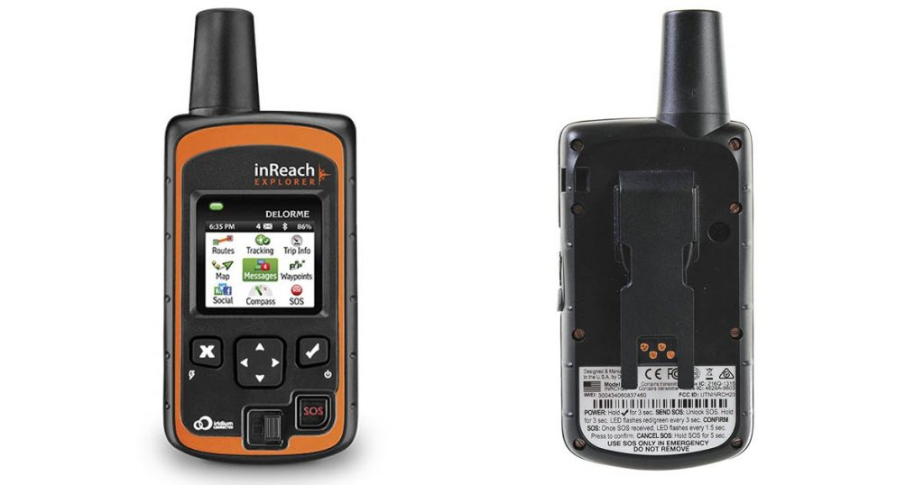 The DeLorme inReach SE is one of the best GPS Trackers on the market.