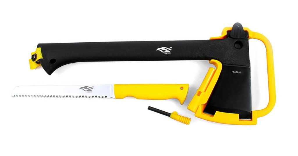 One of the best axe multi tools for hiking, backpacking or survival.