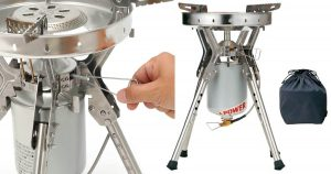 Excellent cold weather camp stove