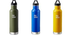 Olive, Blue, and Lemon, Klean Kanteen Insulated Classic Water Bottle