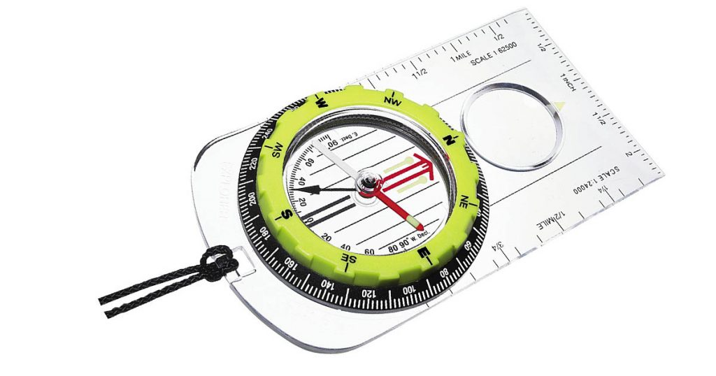 The Silva Explorer Pro High Visibility Compass has non degrading luminous points.