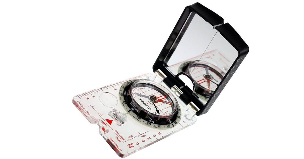 The MC2G Compass is an excellent option if you need a sighting mirror.