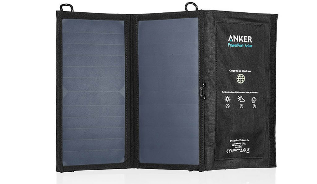 This excellent folding solar panel charger is portable, convenient and effective.