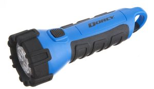 Low priced waterproof flashlight for boating or paddle boarding.