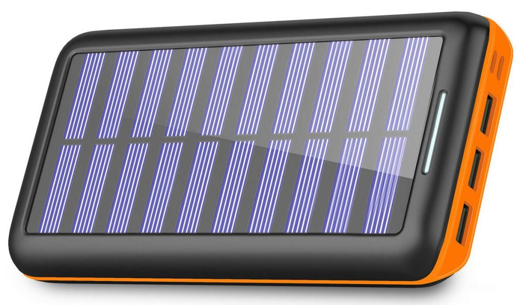 This small, durable solar charger from Splochy pack a powerful punch.