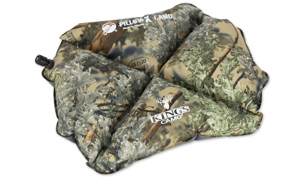 Backpacking and hunting pillow by Klymit