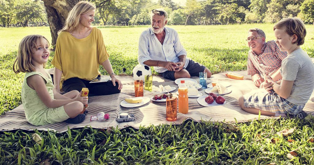 Great outdoor picnic blankets and mats for the beach or camping.