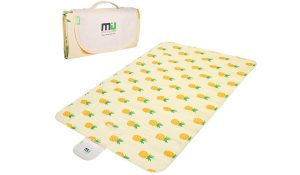 The MUA Color Picnic Mat is perfect for campers and beach goers.