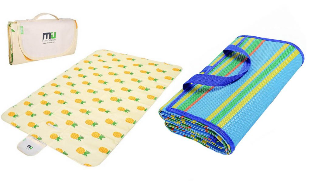 Modern picnic blankets and mats have great features that make them a great asset on camping or beach trips.