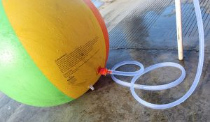 Sprinkler beach ball from Toponechoice