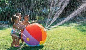 Sprinkler beach ball from Toponechoice