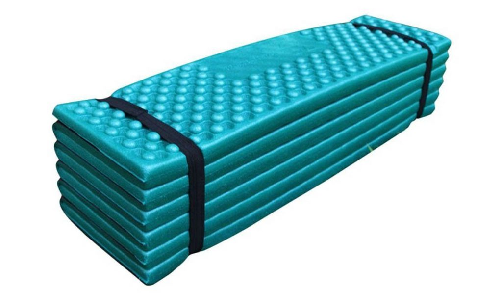 The WeLinks foam pad is great in the forest, fields or beach.