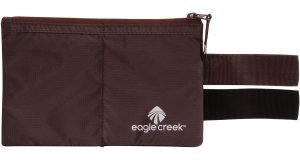 Mocha colored Eagle Creek Undercover Hidden Pocket with belt straps.