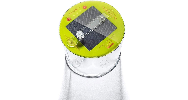 Lime green Luci Solar Lantern.